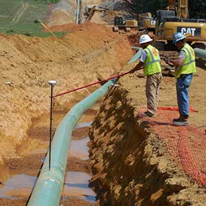image of pipeline project in Alabama