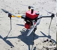 image of UAS surveys
